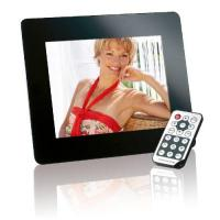 Digitaler Bilderrahmen Intenso Mediadirector Digitaler Bilderrahmen (20,3cm (8 Zoll) Display, SD Kartenslot, Video-Function, Fernbedienung) schwarz