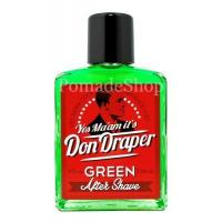 After Shaves Don Draper Green Aftershave, 100ml