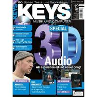 Keys 12 2016 mit DVD - 3D Audio - Wavelab 9 Video Tutorial - Personal Samples - Free Loops - Audiobeispiele